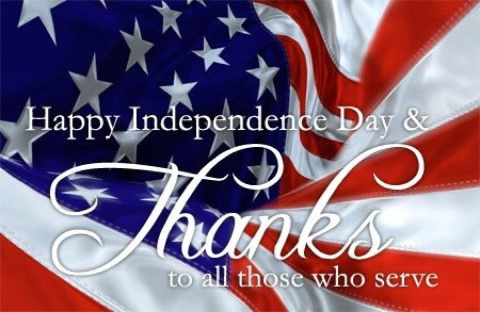 Fourth 4th of July Clipart Animated Black and White 960x625
