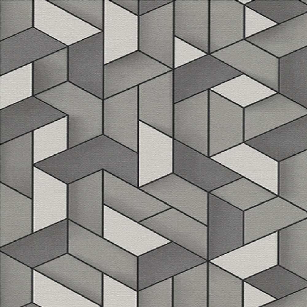 Wallpaper Erismann Erismann Levante 3D Geometric Wallpaper 1000x1000