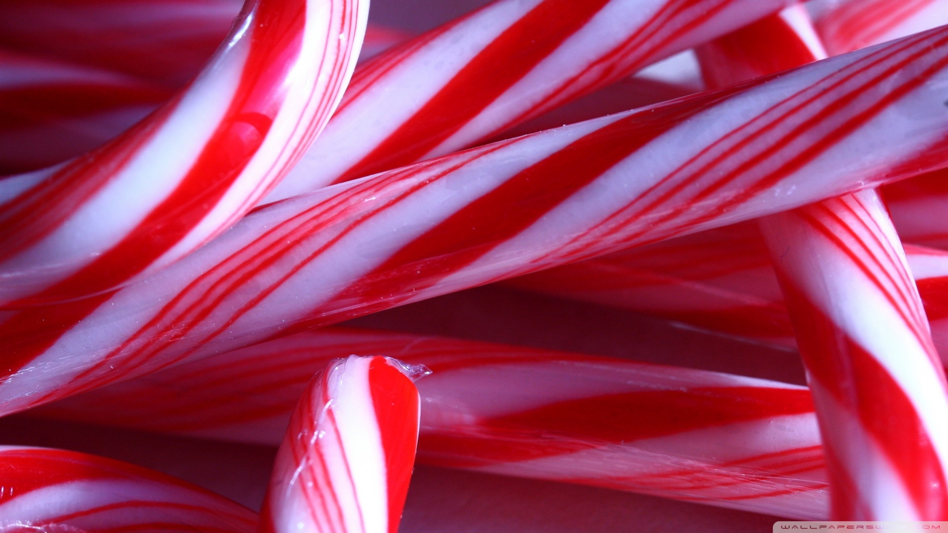 Candy Canes Wallpaper 1920x1080 Candy Canes 1920x1080