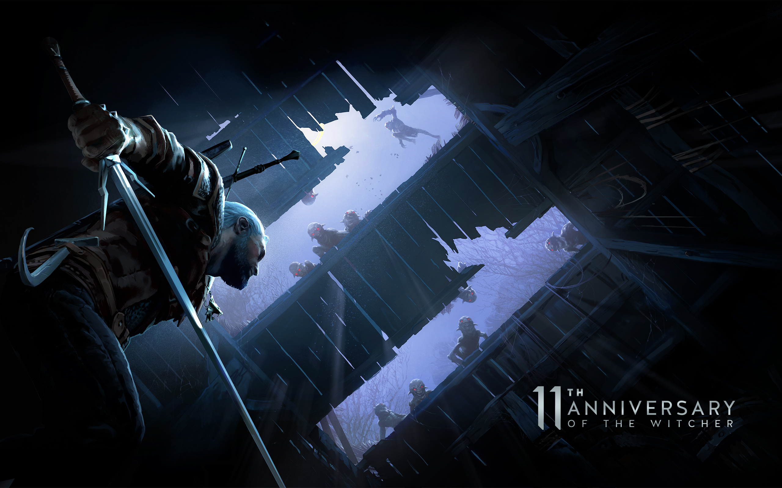 Witcher 11th anniversary wallpapers   CD PROJEKT RED 2560x1600