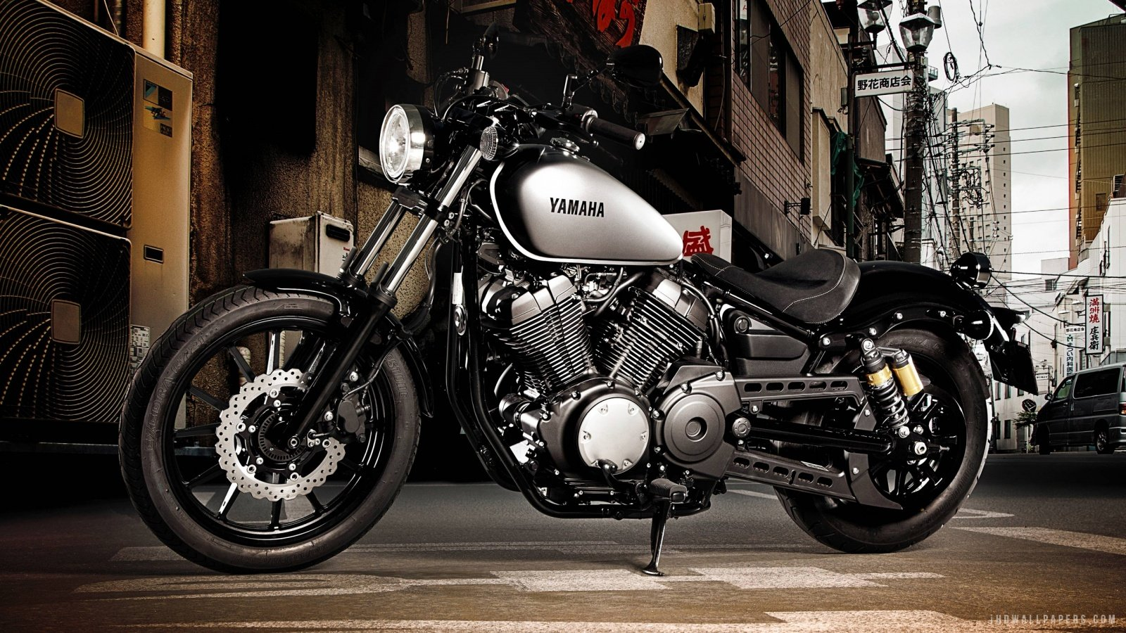 Yamaha Bolt XV950 2015 HD Wallpaper   iHD Wallpapers 1600x900