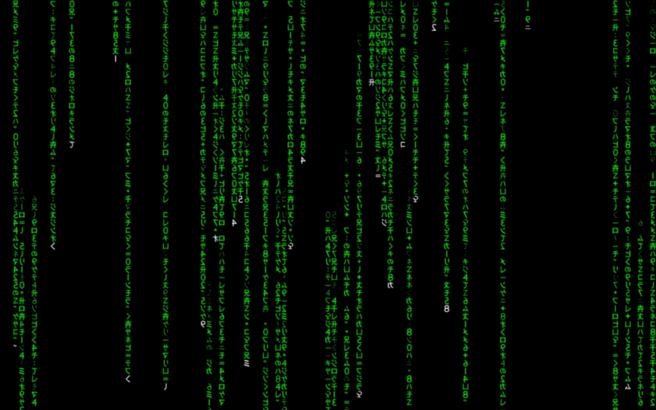 matrix code kanji 1680x1050 wallpaper Miscellaneous HD Wallpaper 2560x1600