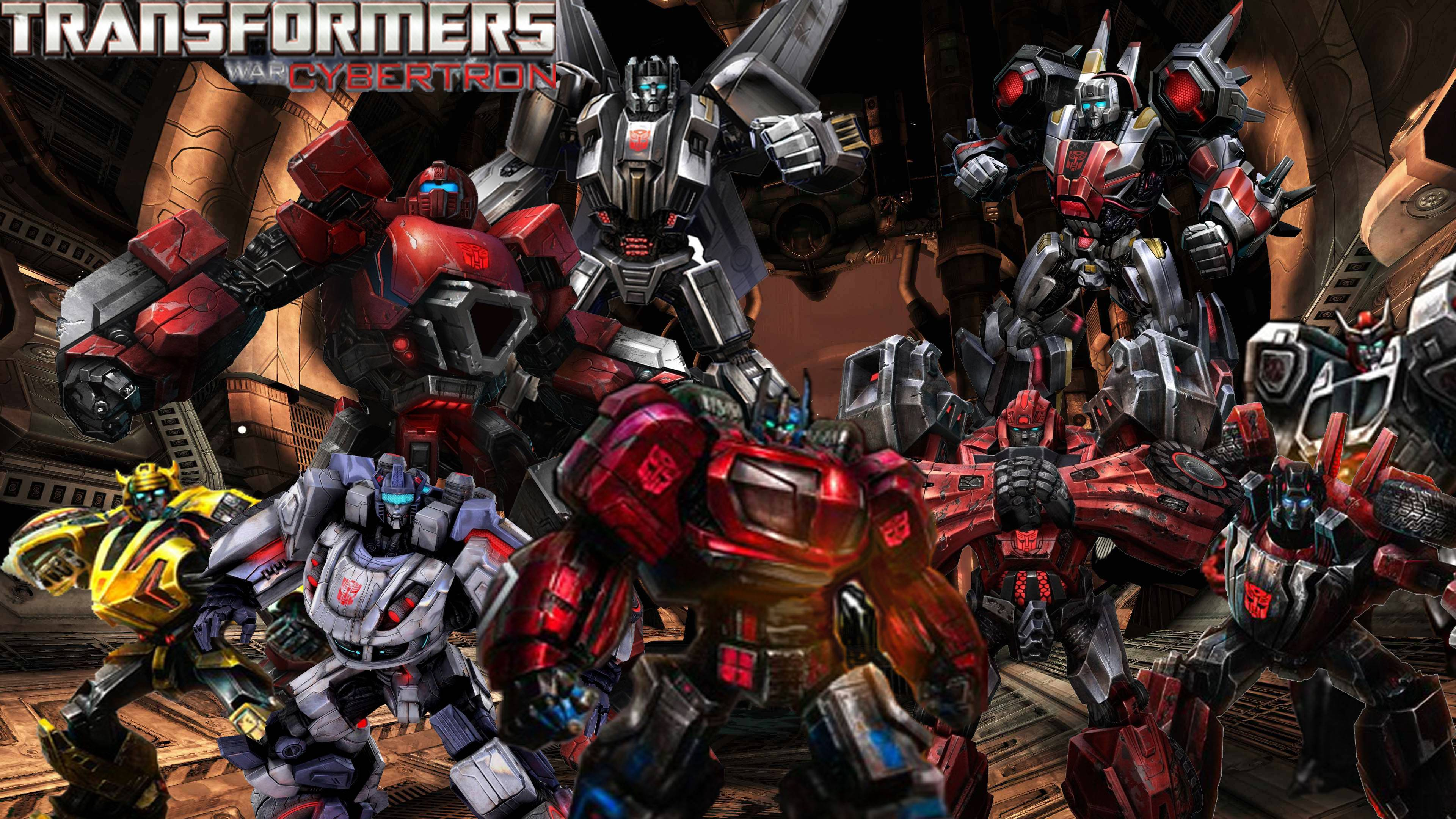 Transformers Fall Of Cybertron Wallpaper Fantastic 3840x2160