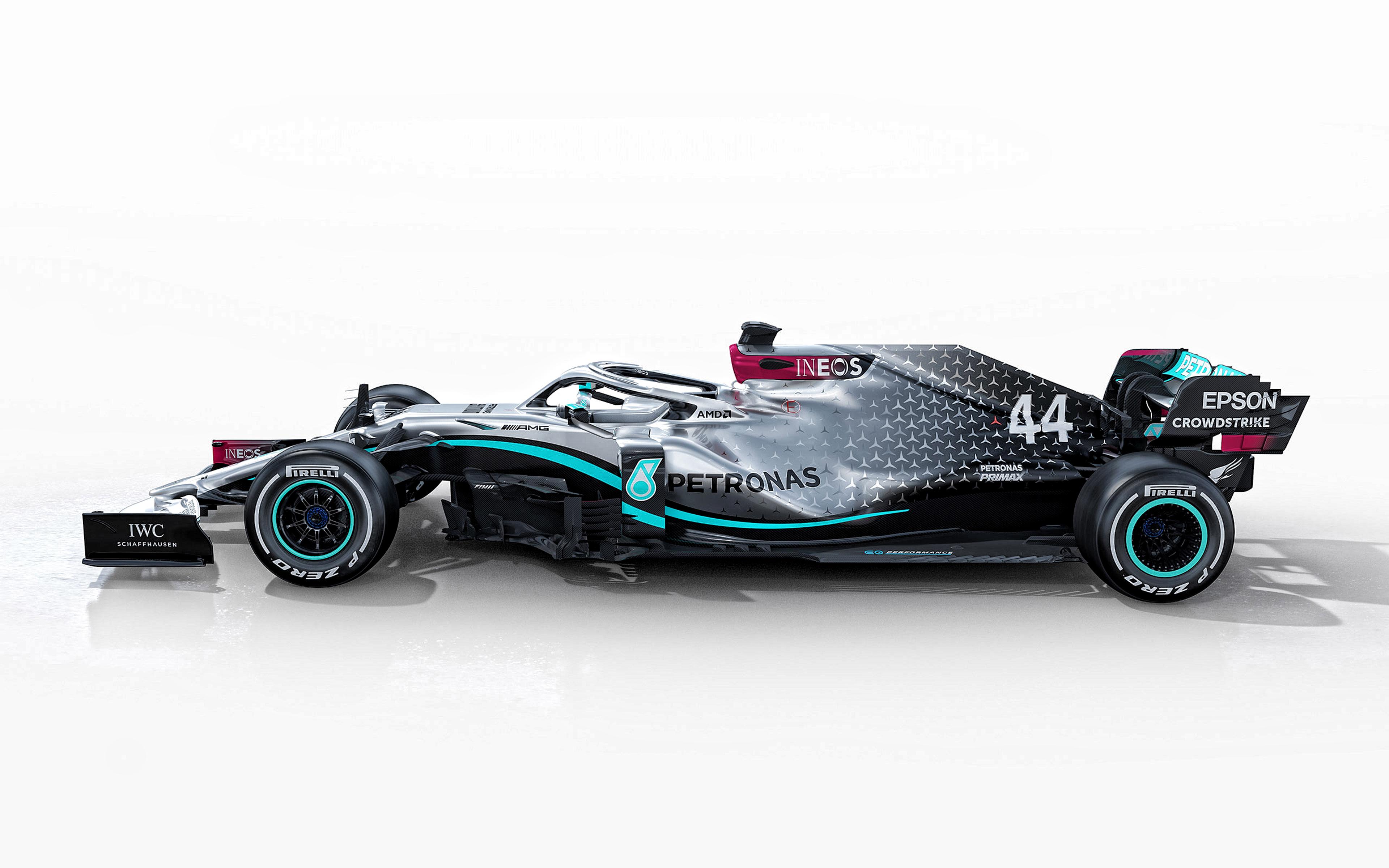 Download wallpapers 2020 Mercedes AMG F1 W11 EQ Performance 4k 3840x2400