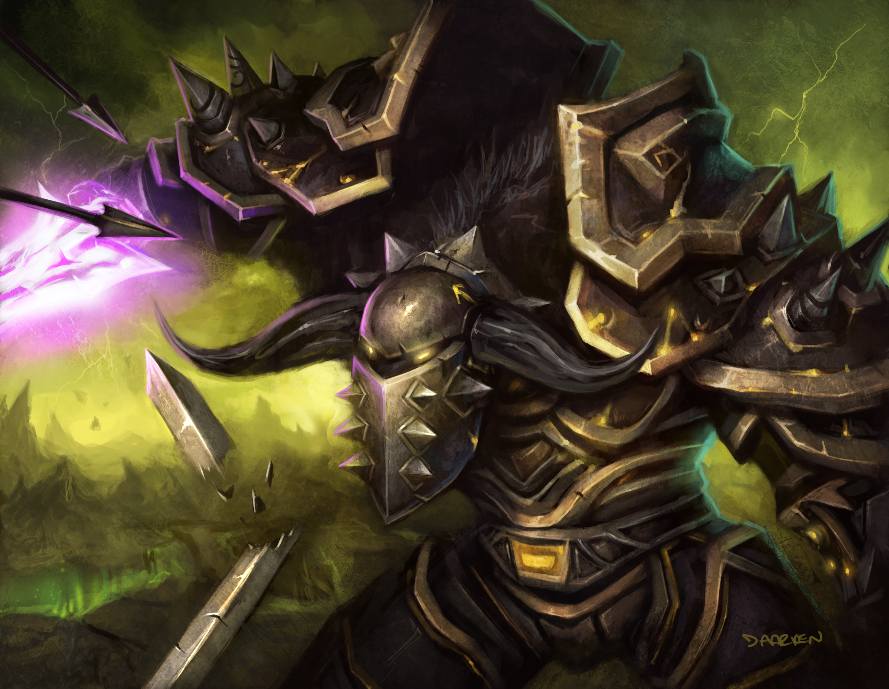 Excited By Upcoming WOD Warrior Class Changes Kernhoofs WoW Blog 3000x2325