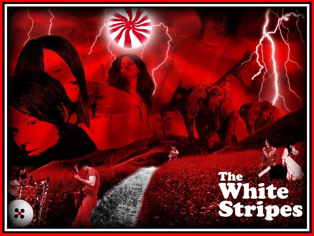 Best Music Wallpapers The White Stripes HD wallpaper 1024x768