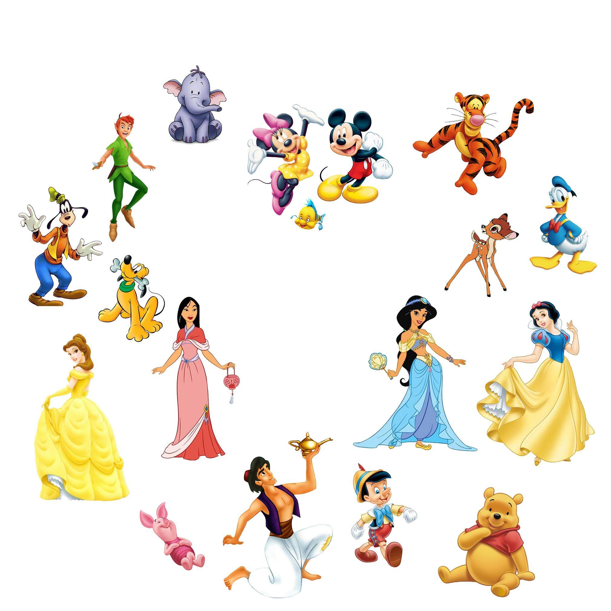 Disney Characters Backgrounds 2020x2020