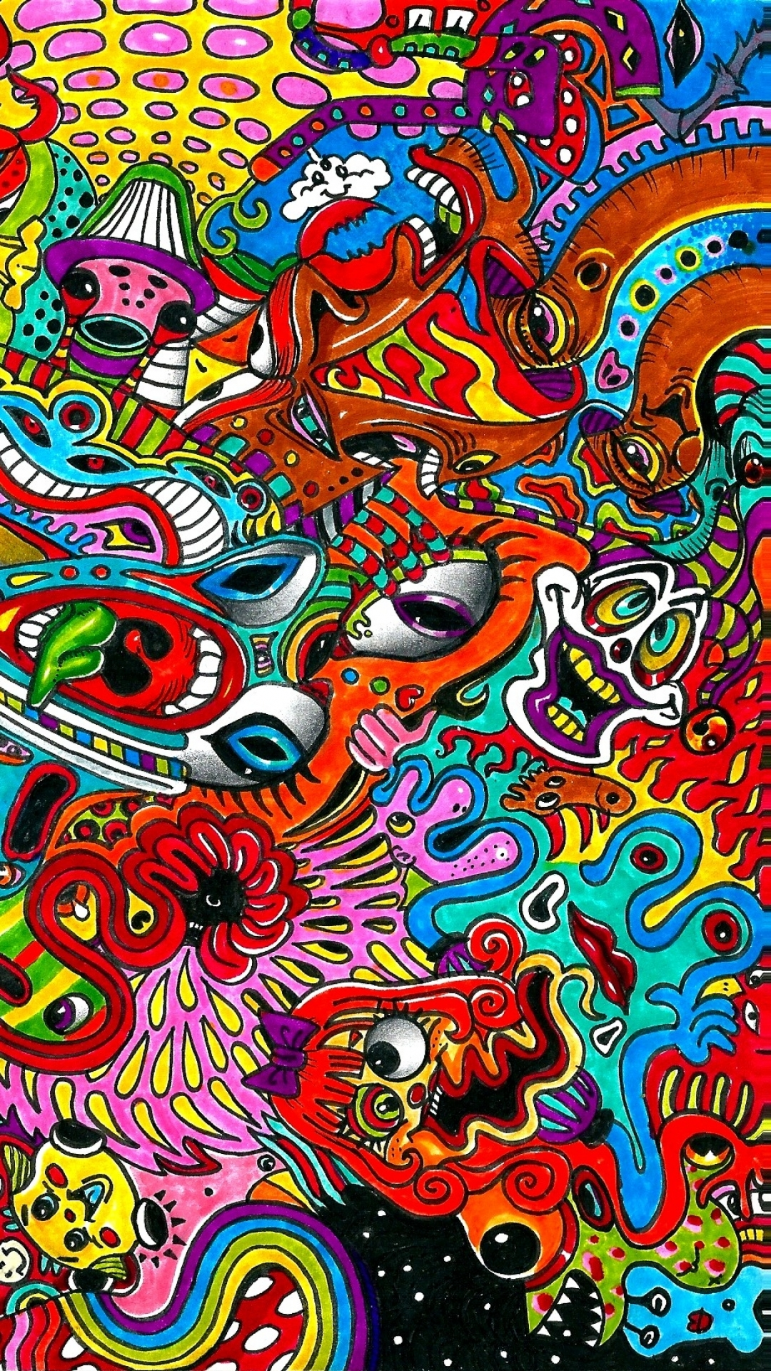 Free Download Psychedelic Phone Wallpaper Awesome 47