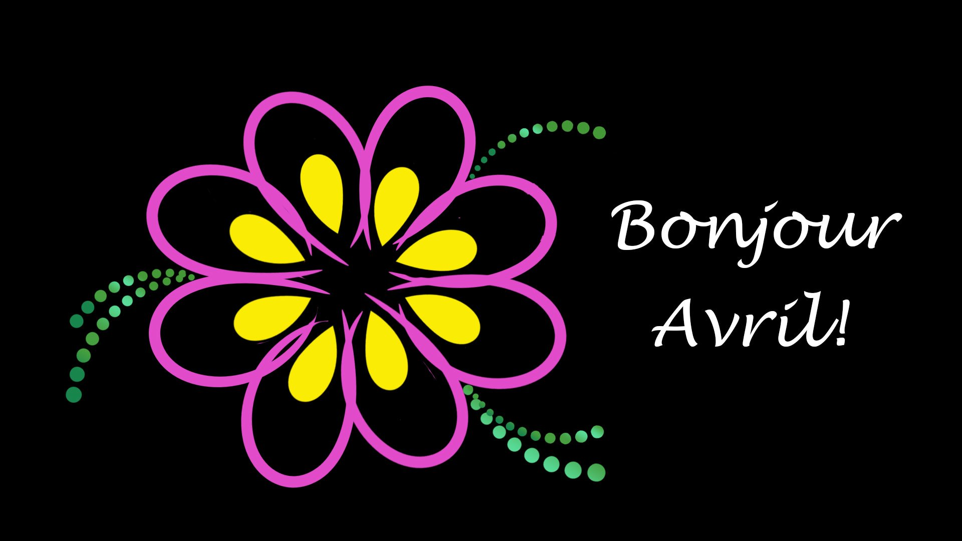 Bonjour Avril HD Wallpaper Background Image 1920x1080 ID 1920x1080