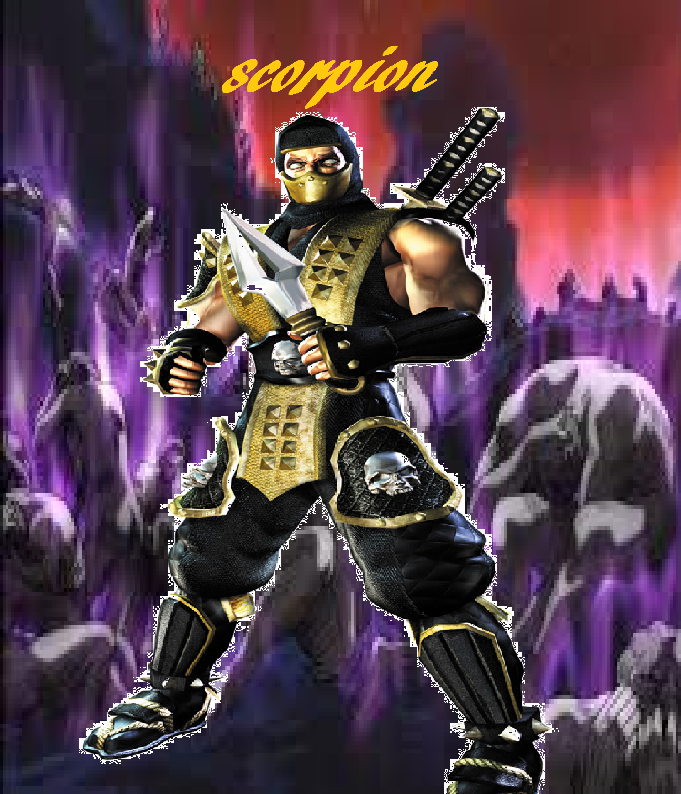 Scorpion infernopng 1372x1600