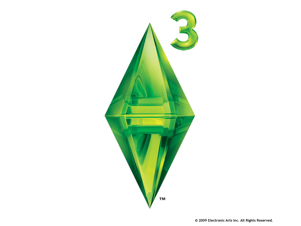 the sims 3 logo wallpaper background ts3 desktop ea games 2 image 1024x768