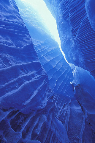 Ice Blue Wallpaper 320x480