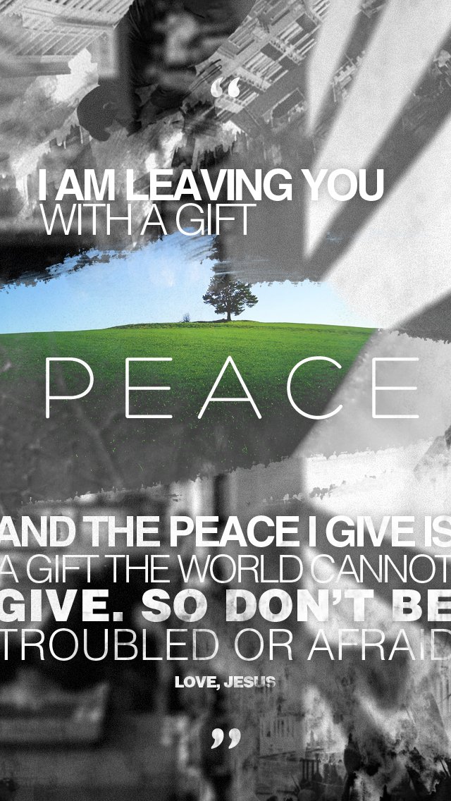 Peace iPhone 544S Wallpaper by thatoneguydan