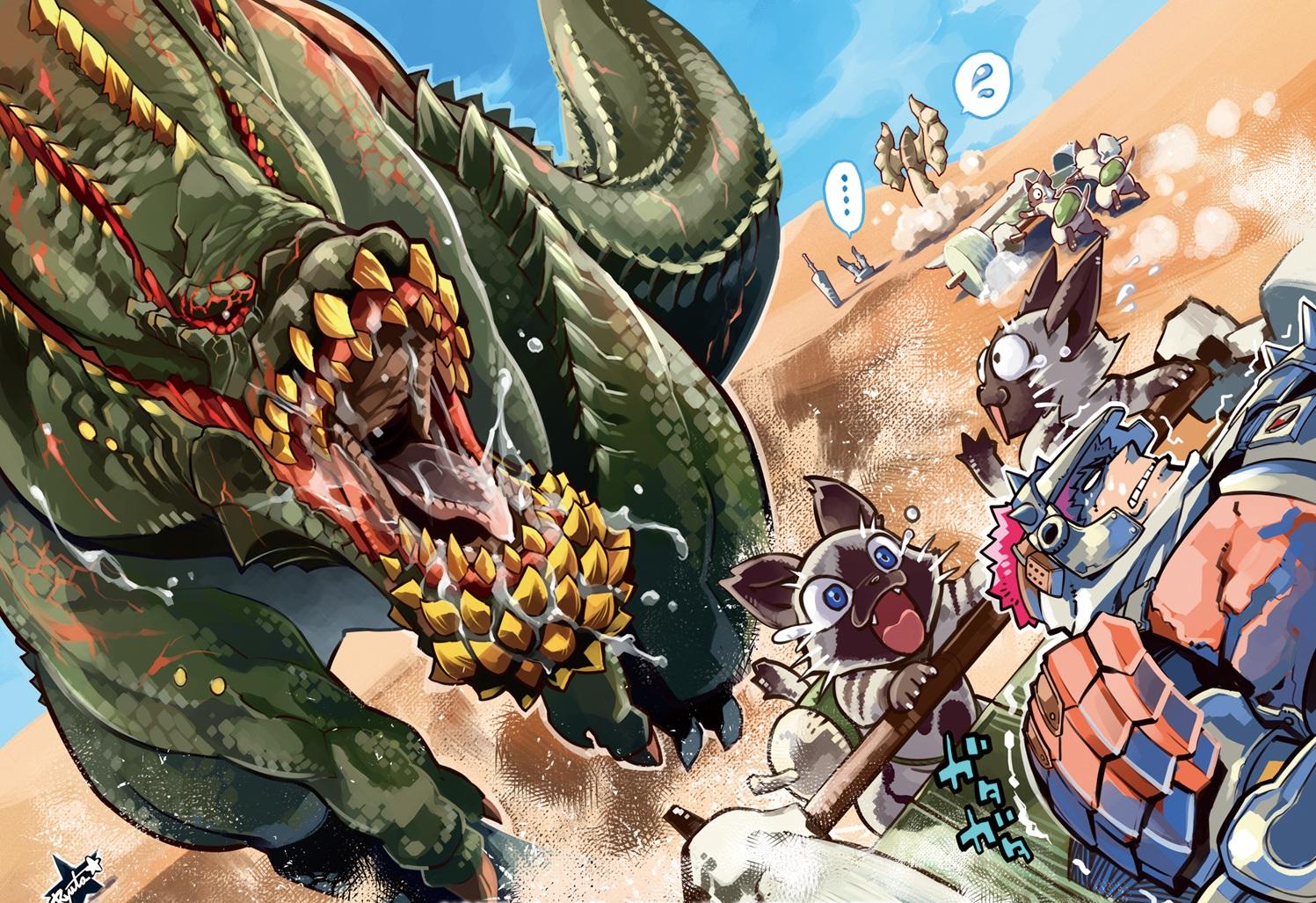 Monster Hunter Wallpaper 1497x1027 Monster Hunter 1497x1027