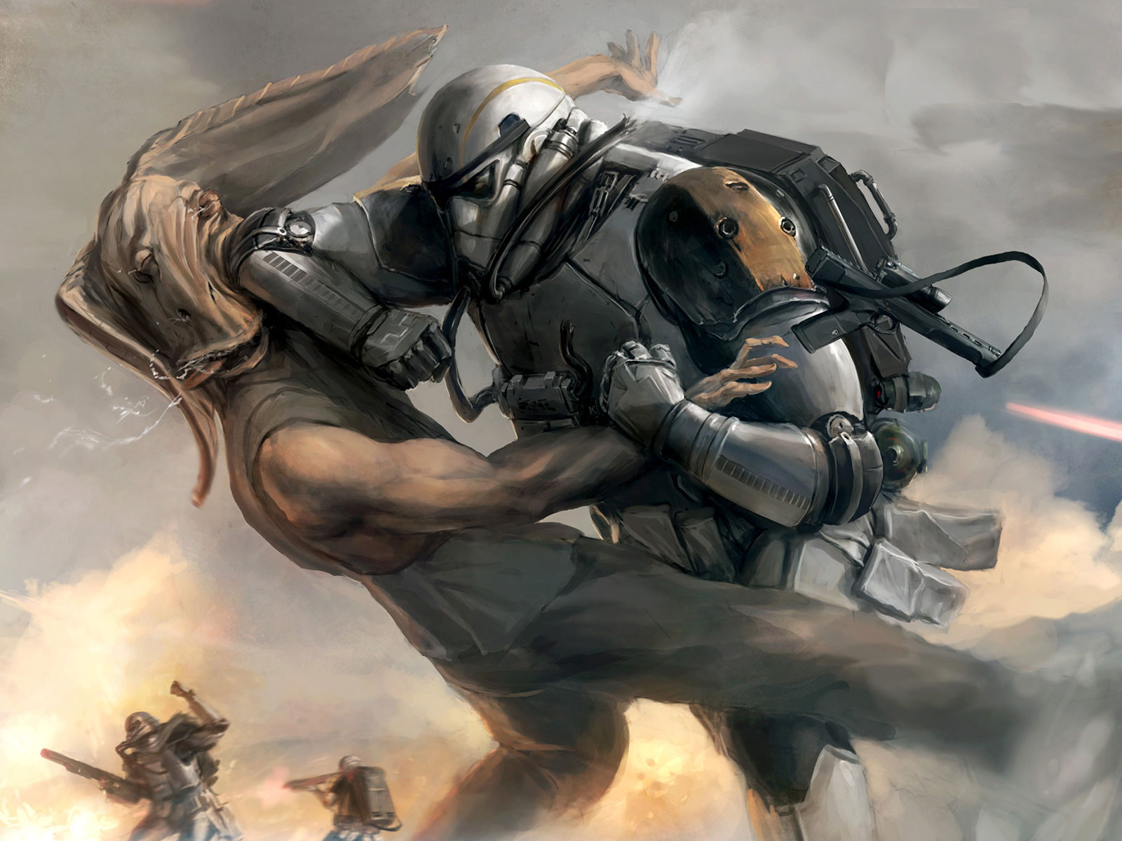 goes to the internet famed Star Wars rock and roll wallpaper 1600x1200