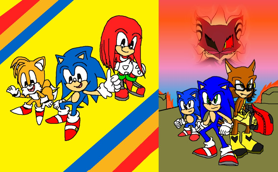 Free Download Sonic Mania And Sonic Forces Wallpaper By