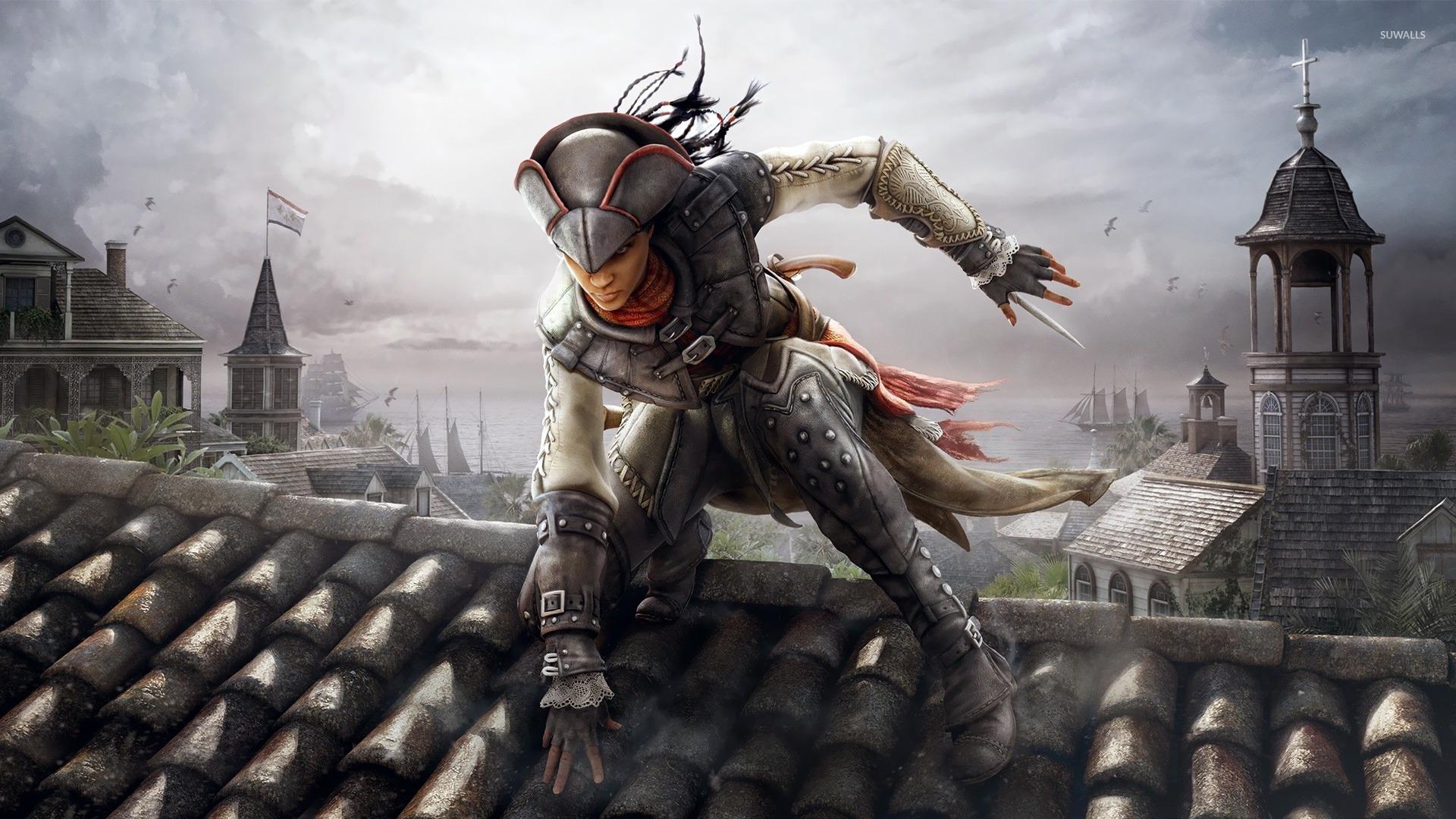 Assassins Creed 4 Multiplayer Femlae wallpaper 1920x1080