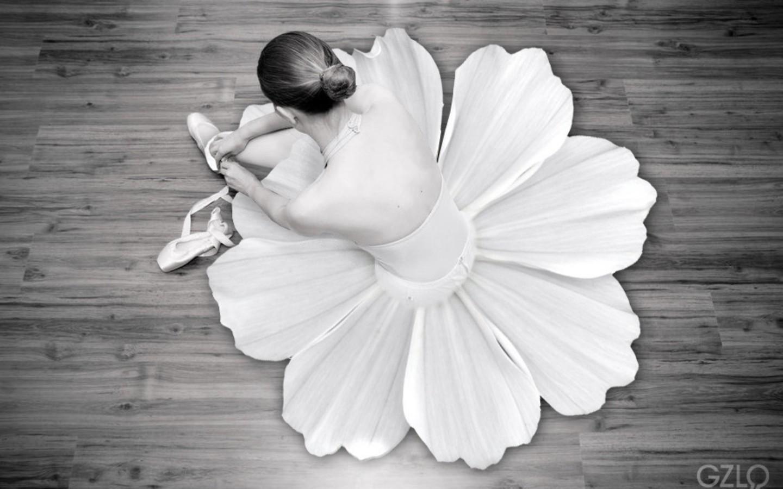 Ballet Wallpaper 1440x900 Flowers Ballet Monochrome Dancers Ballet 1440x900