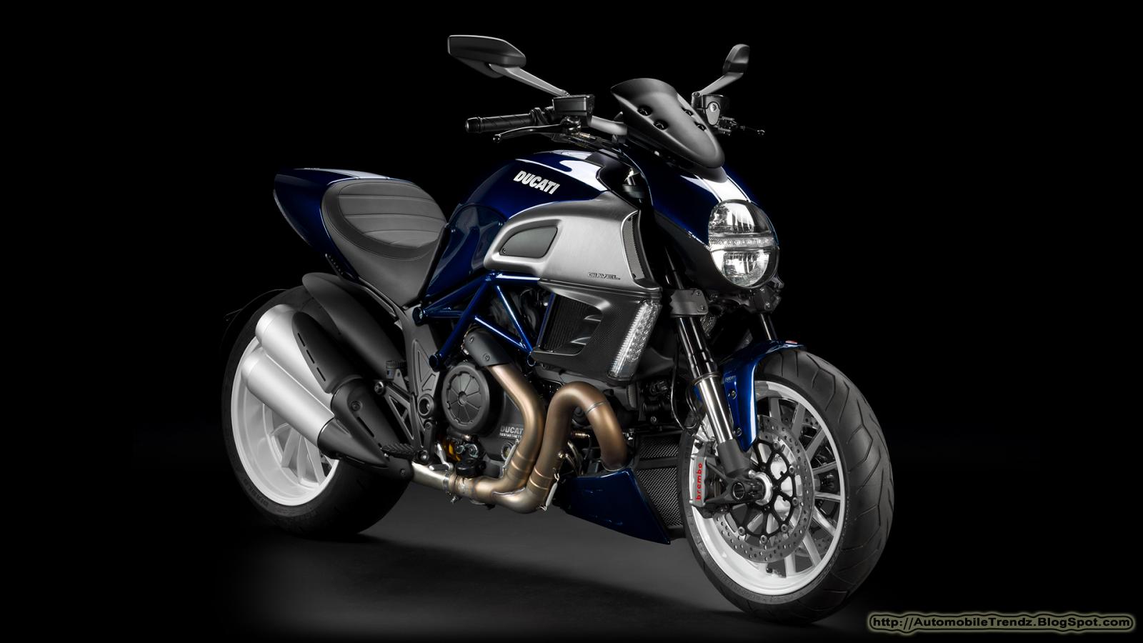 Automobile Trendz Ducati Diavel 2013 Wallpapers 1600x900