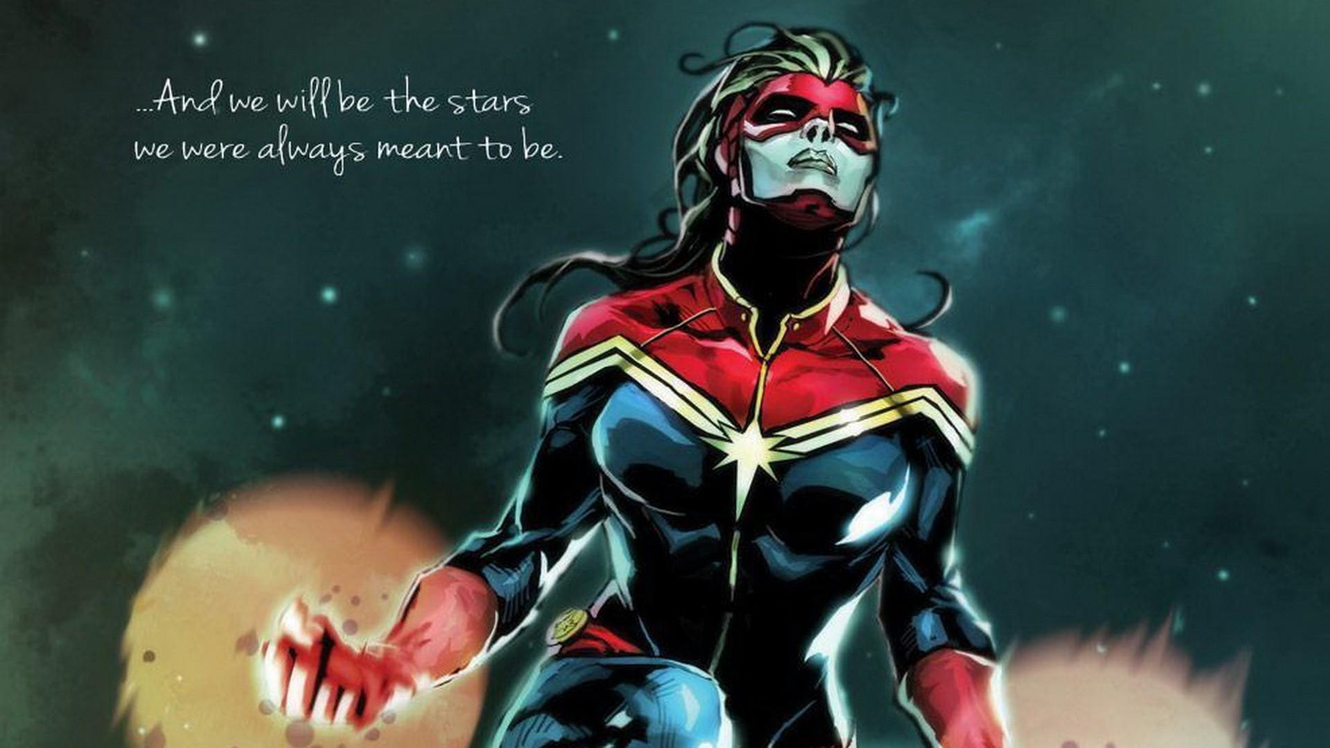 Captain Marvel Wallpaper Wallpapersafari