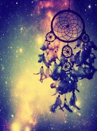 Galaxy dream catcher iPhone Wallpapers Pinterest 391x527