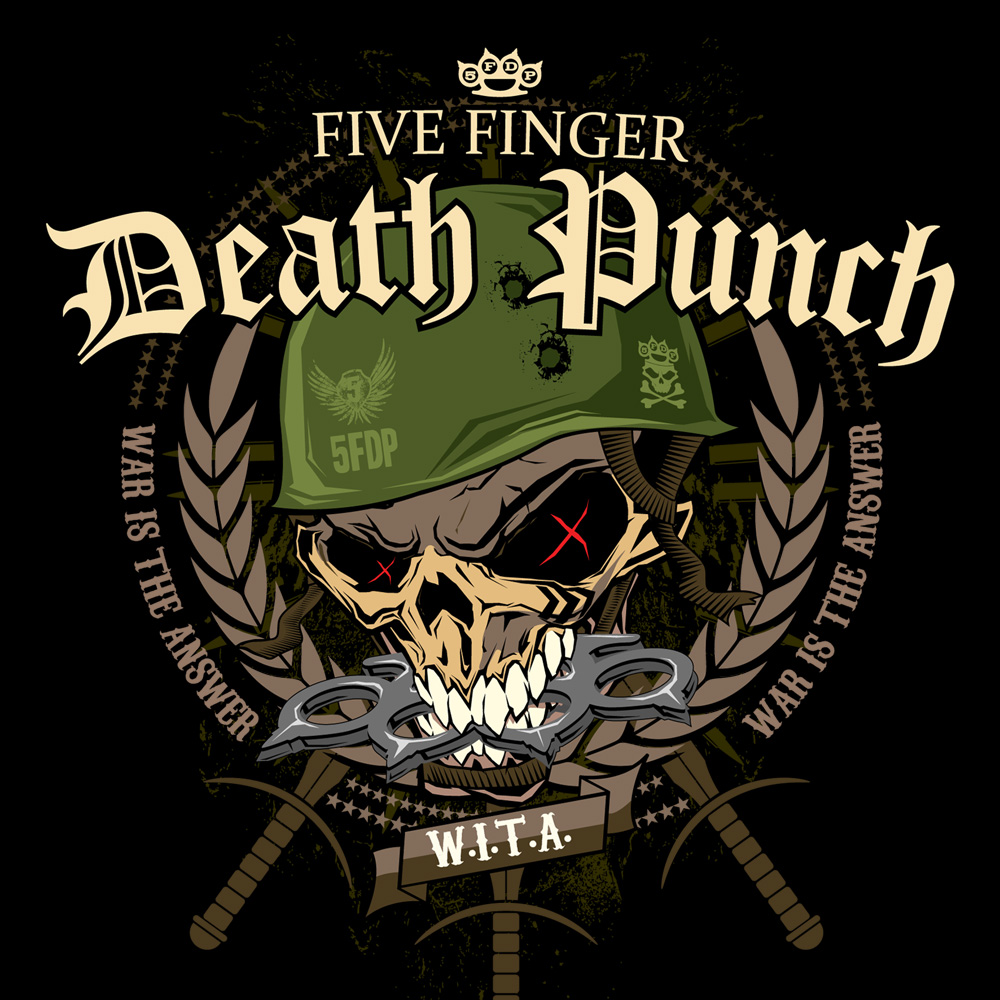 Free Download Pin Five Finger Death Punch Logo Background