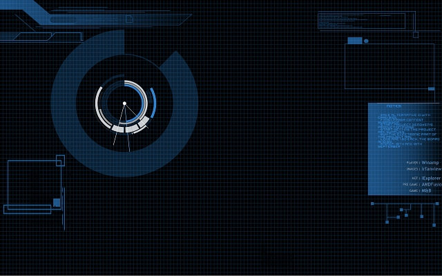 Jarvis Mainframe Iphone Wallpaper Jarvis mainframe wallpaper by 640x400