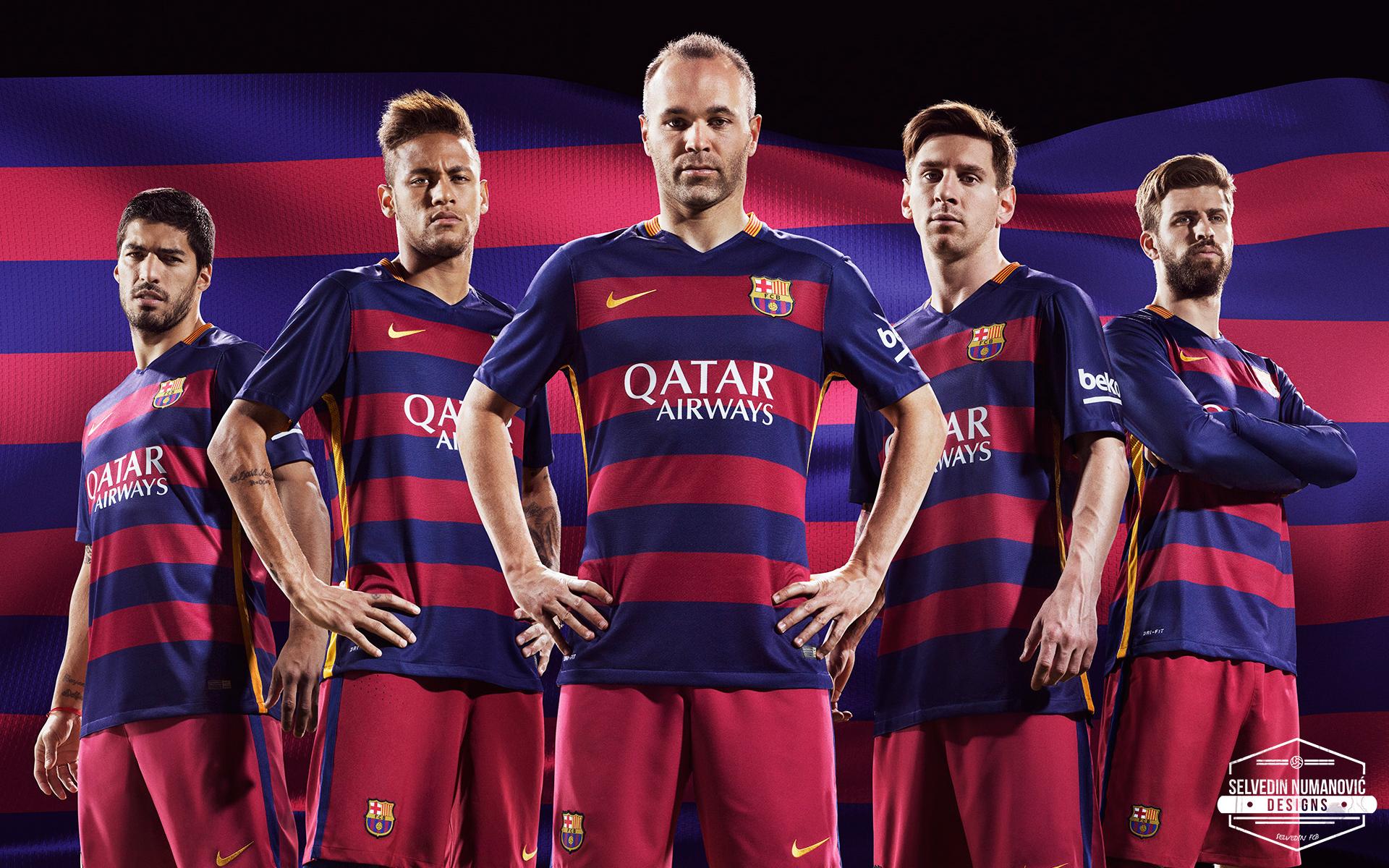 FC Barcelona 201516 HD WALLPAPER by SelvedinFCB 1920x1200