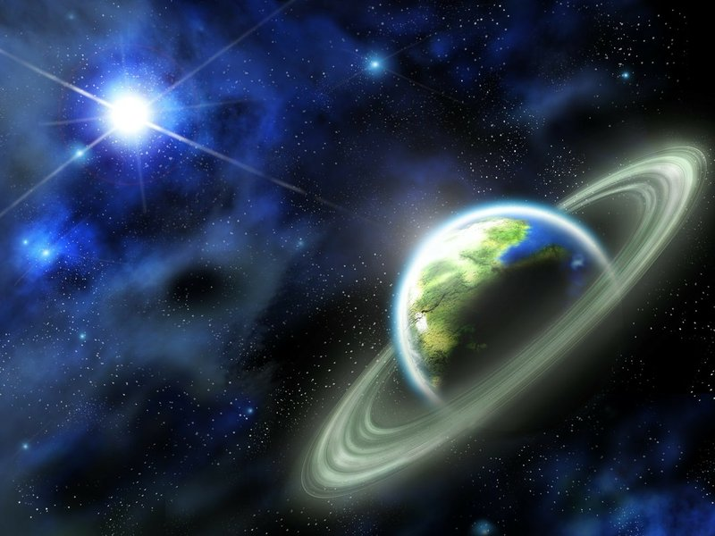 planet rings deep in space planets hd desktop wallpaper Car Pictures 800x600