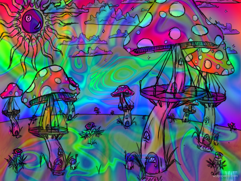 Download LSD Trip Wallpaper Wallpaper 1024x768