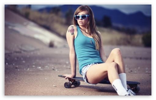 48 Girl Skateboard Wallpaper On Wallpapersafari
