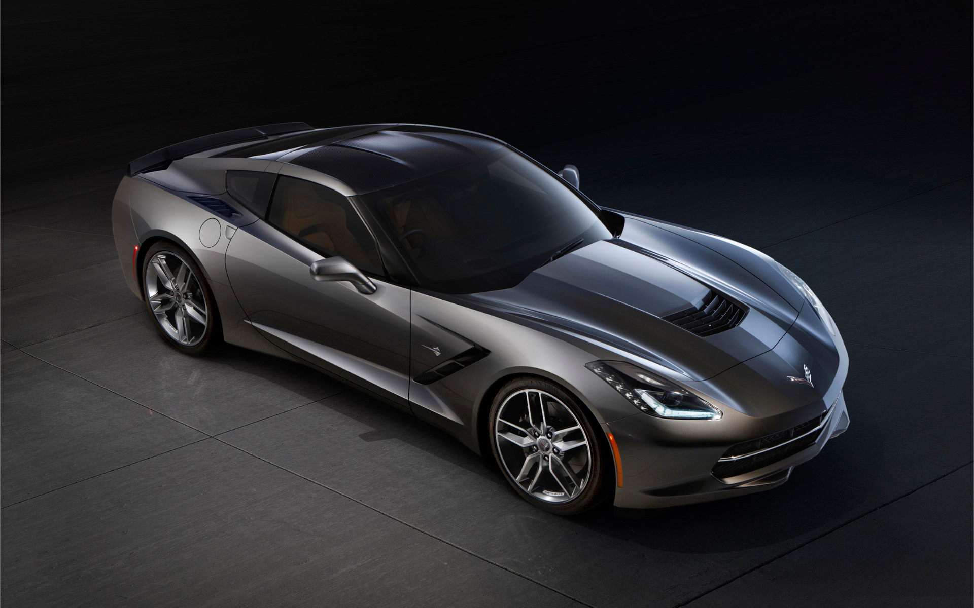 corvette stingray wallpaper 1920x1200