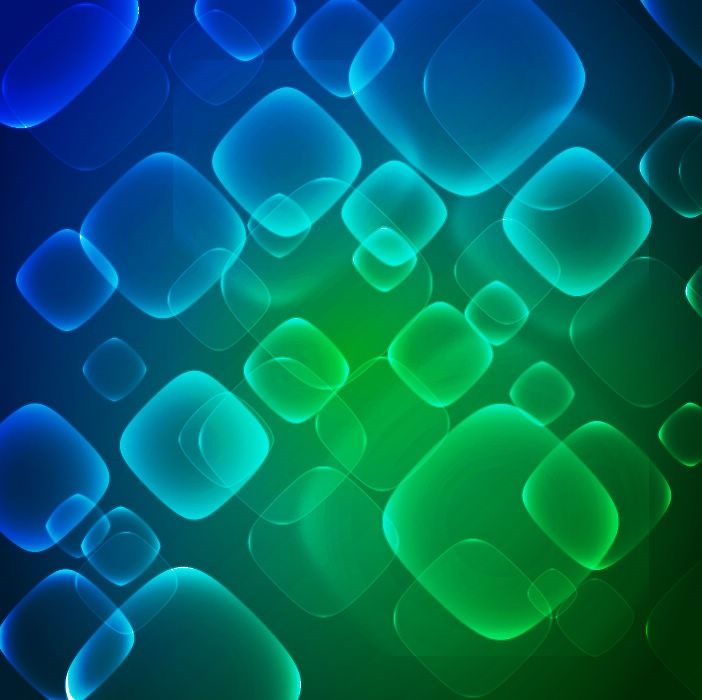 Virtual Technology Blue Green Abstract Background Vector 702x700