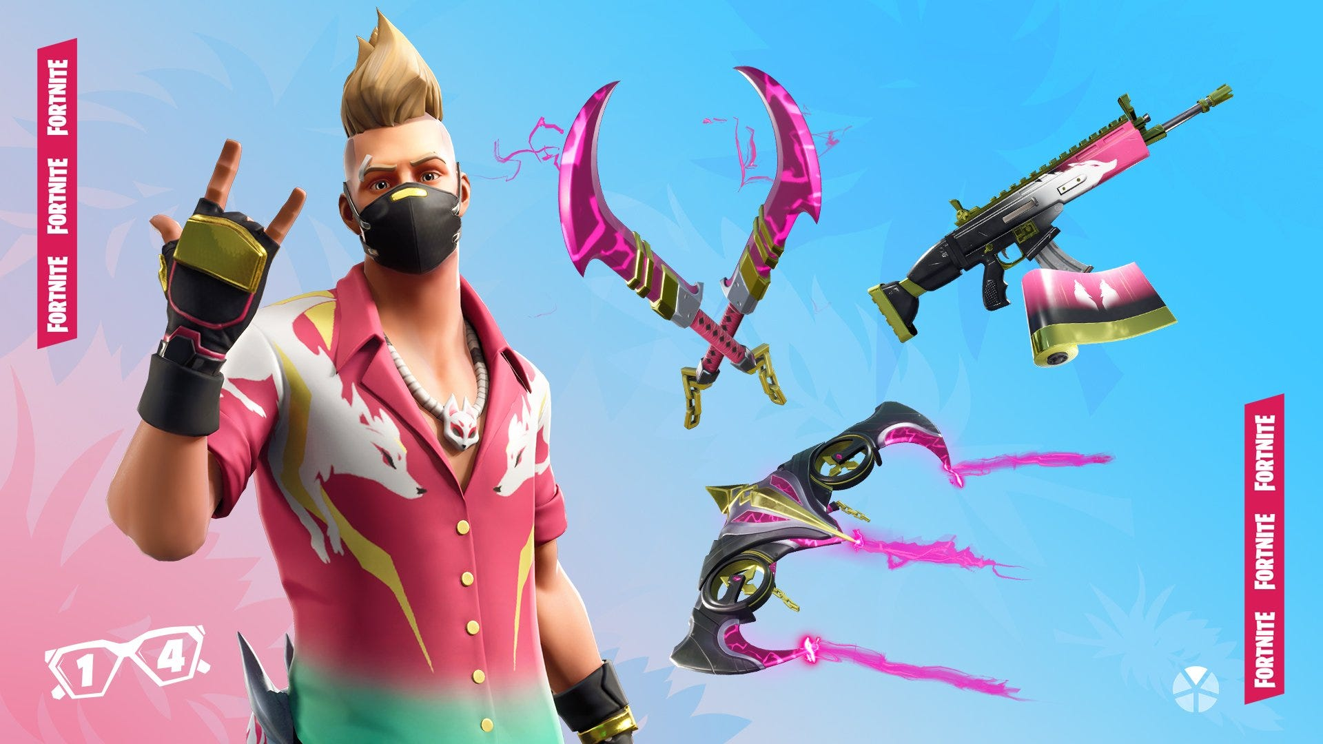 Fortnite gave a classic outfit a 15 makeover for the summer and 1920x1080