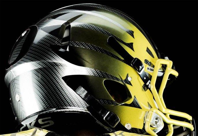 Oregon Duck Helmet Wings New 2013 nike oregon ducks 687x472