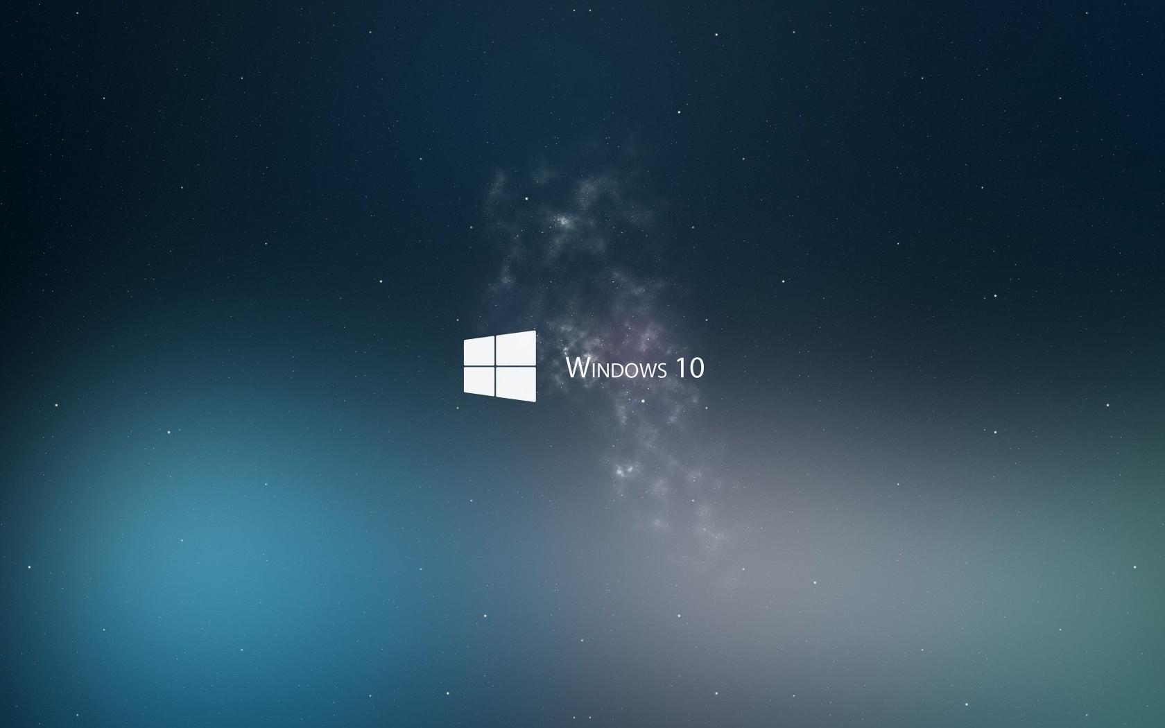 Windows 10 is Coming, Fog, Logo
