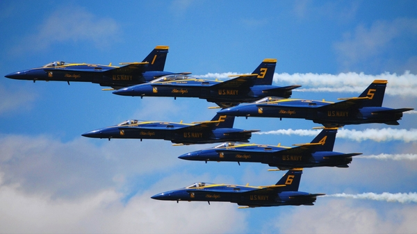 blue angels fa 18 hornet 1920x1080 wallpaper Angels Wallpapers 600x337