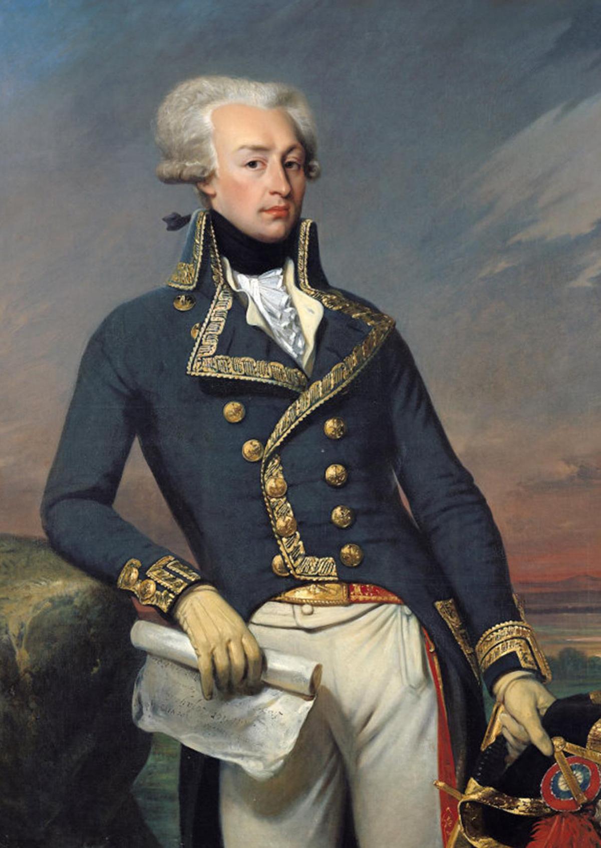 Gilbert du Motier Marquis de Lafayette   Wikipedia 1200x1692