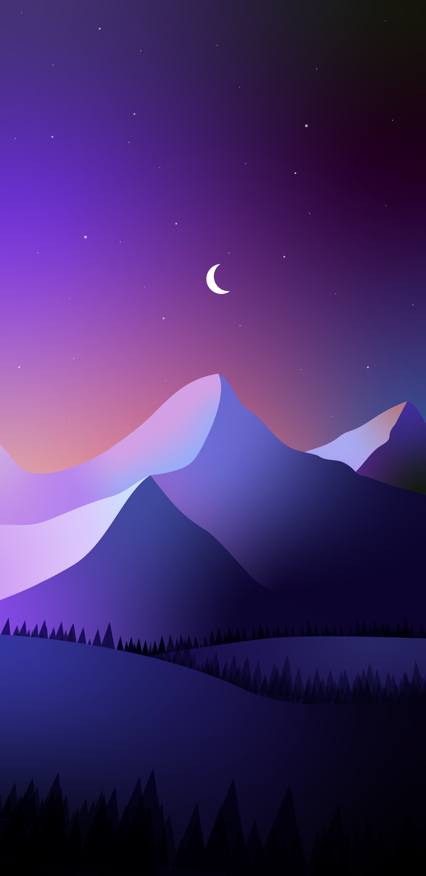1st attempt at something on illustrator Wallpaper for phones 1440x2960