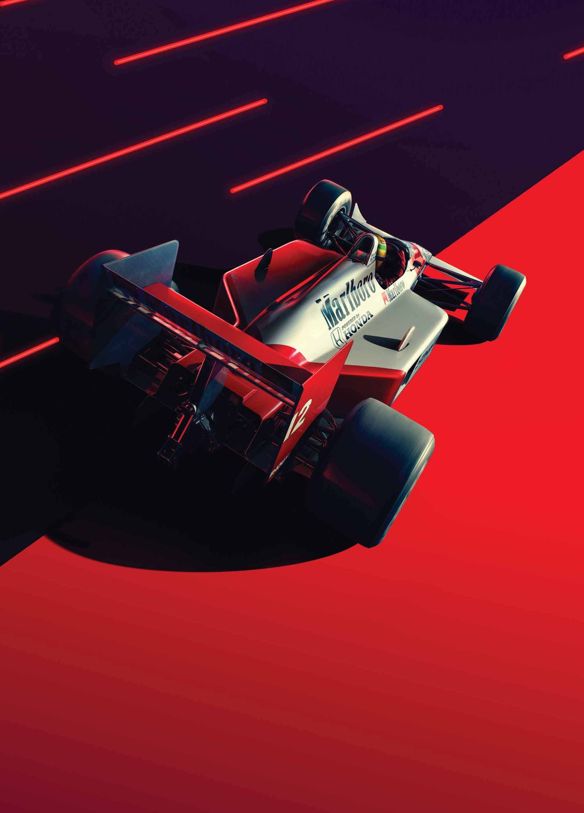 McLaren and Unique Limited launch art print and posters 2008x2794