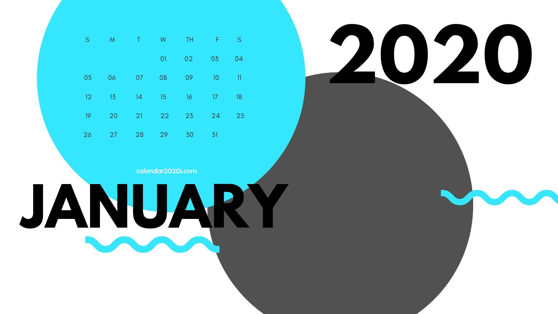 2020 Calendar Printable Monthly Templates Calendar 2020 1920x1080