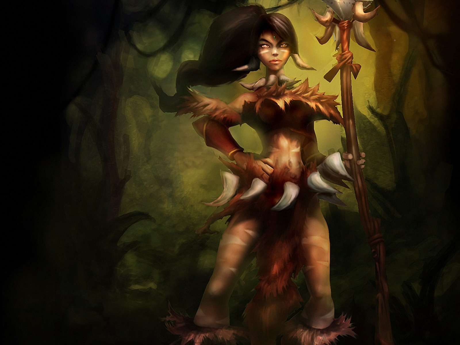 League of Legends Nidalee 1600x1200 Wallpapers 1600x1200 Wallpapers 1600x1200