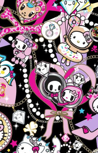 Hello Kitty Tokidoki Wallpaper Wallpapersafari