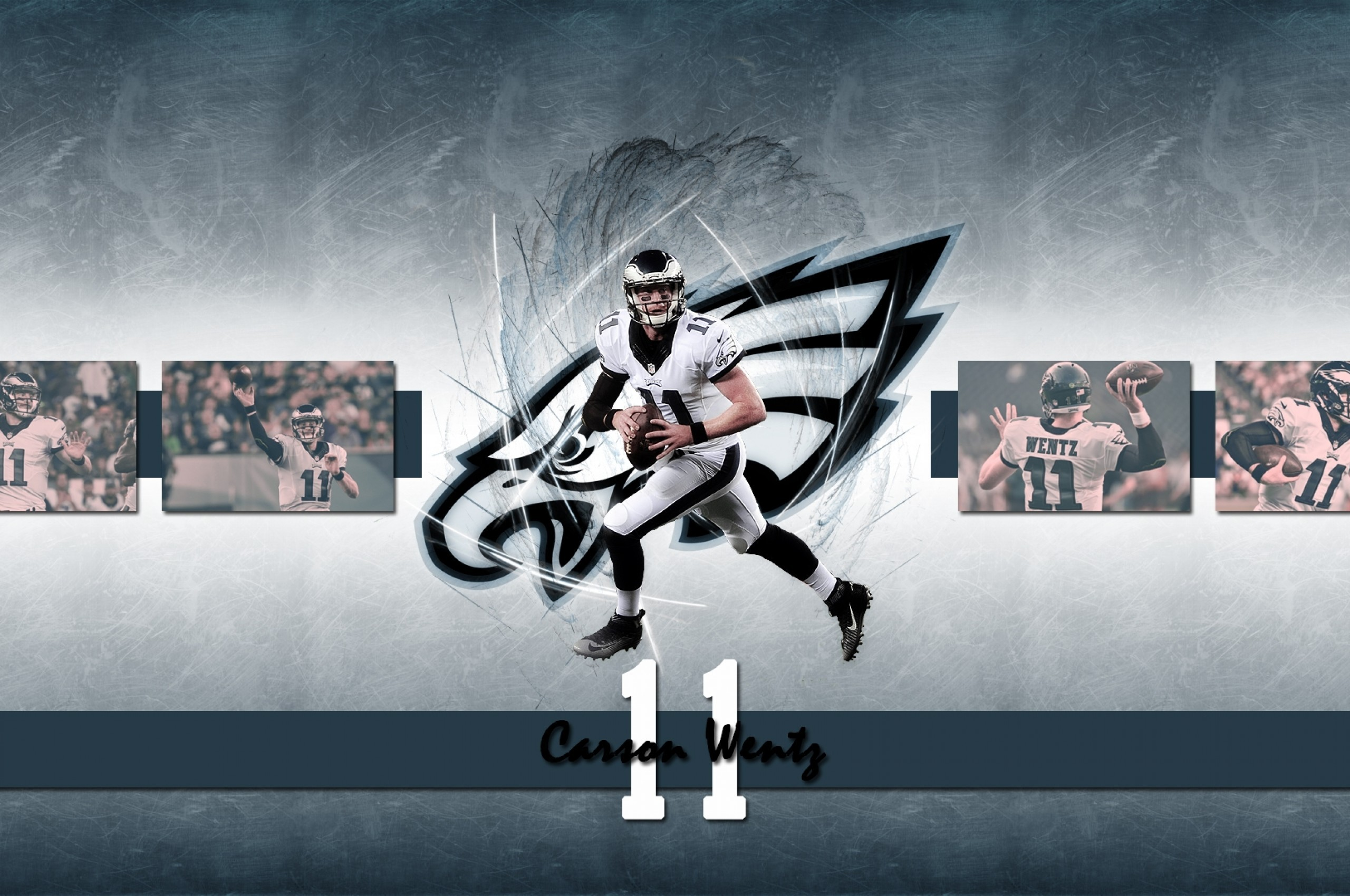 Download 2560x1700 Carson Wentz American Football Wallpapers for 2560x1700