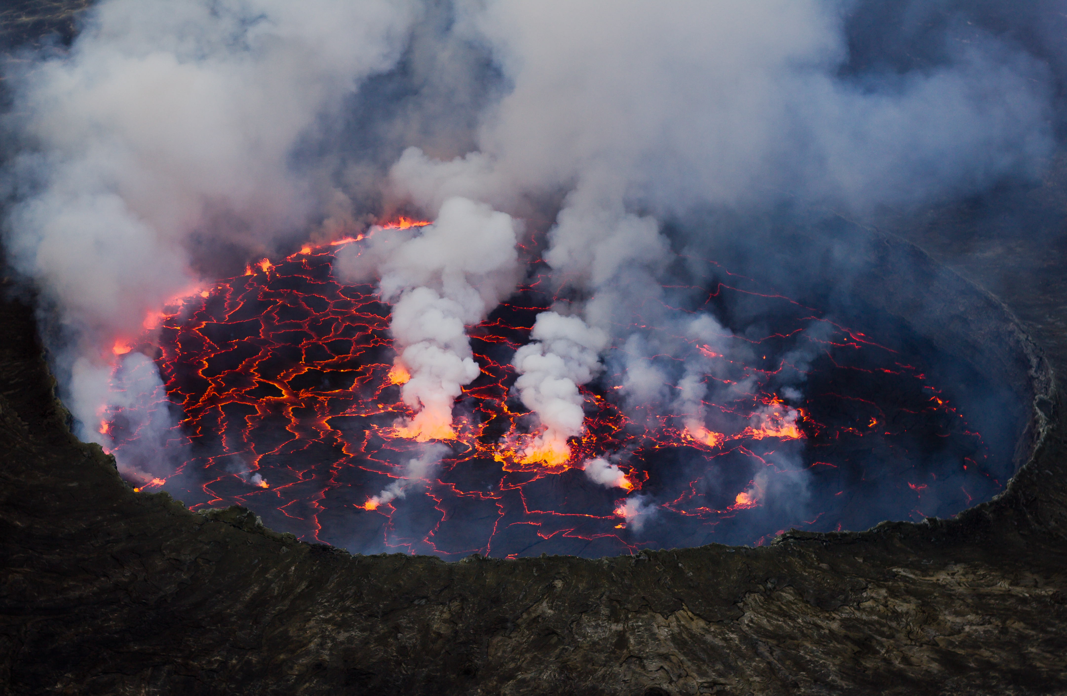 Mount Nyiragongo   Wikipedia 4324x2820