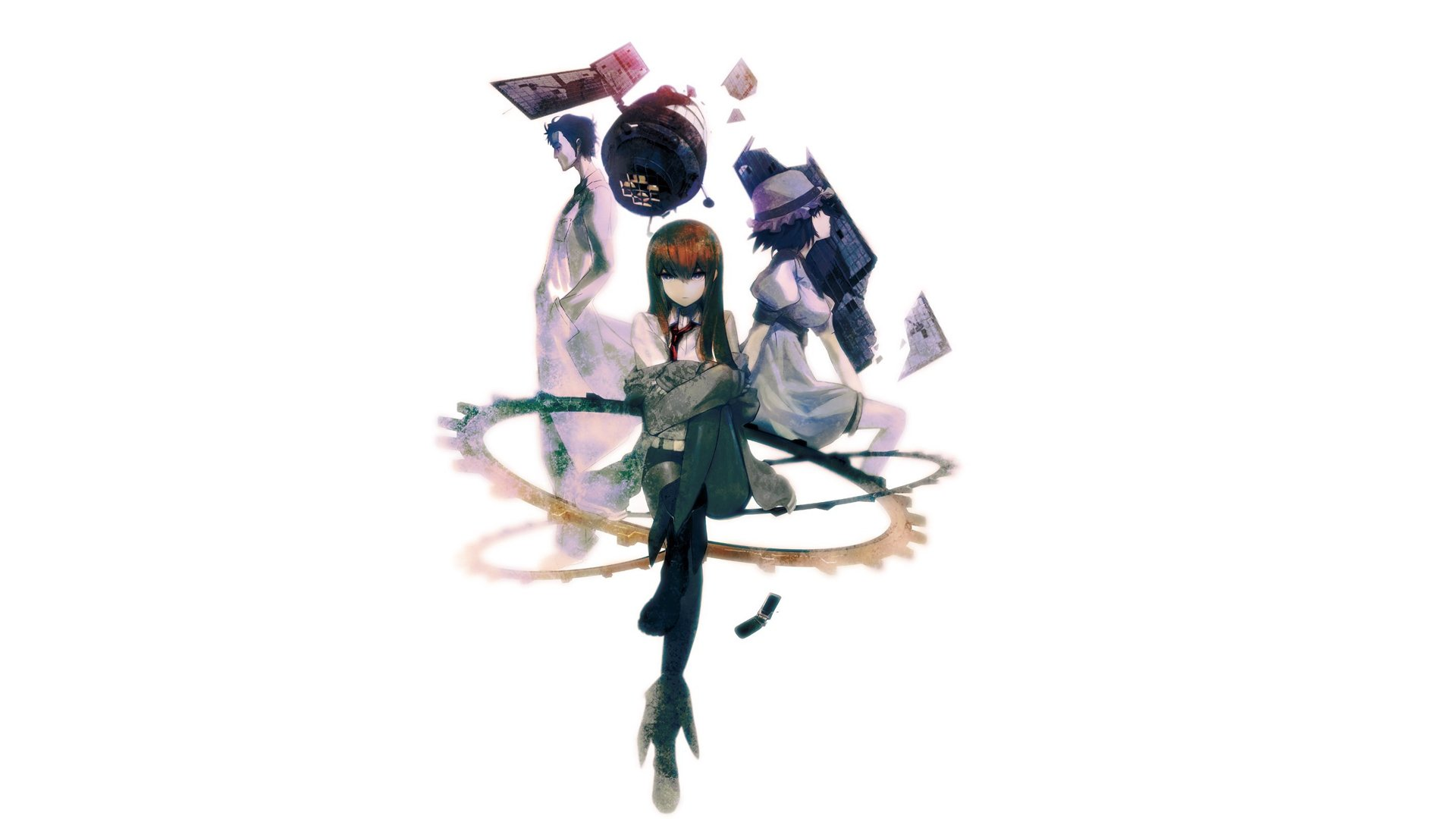 Free Download Anime Boys Steins Gate Shiina Mayuri Makise Kurisu