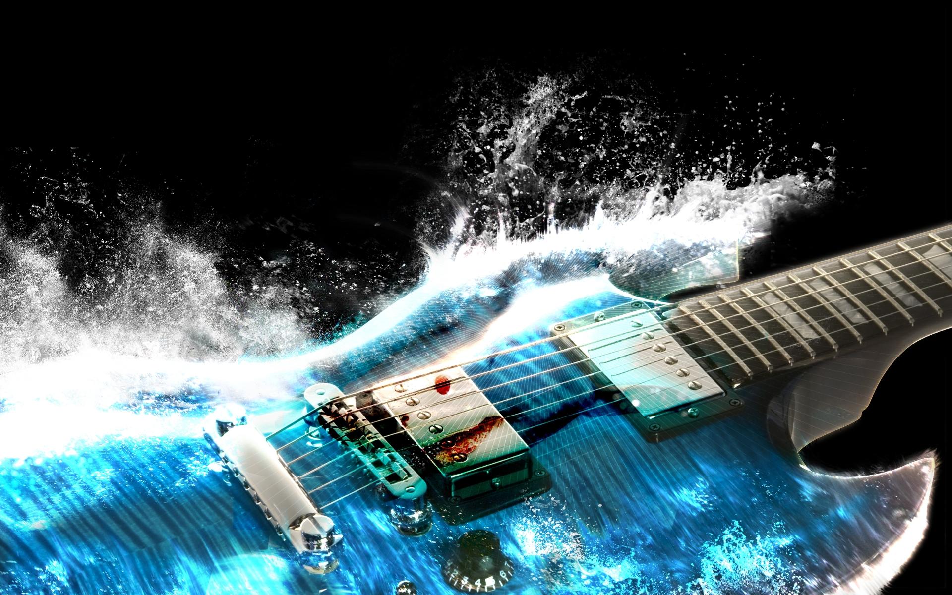 Pics Photos   Electric Guitars Wallpaper 1920x1200
