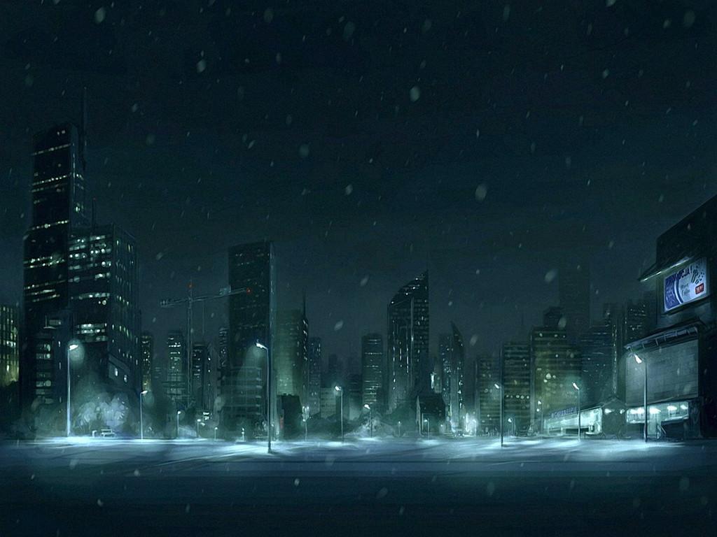 Snow City Screensavers 1024x768 pixel Popular HD Wallpaper 1024x768