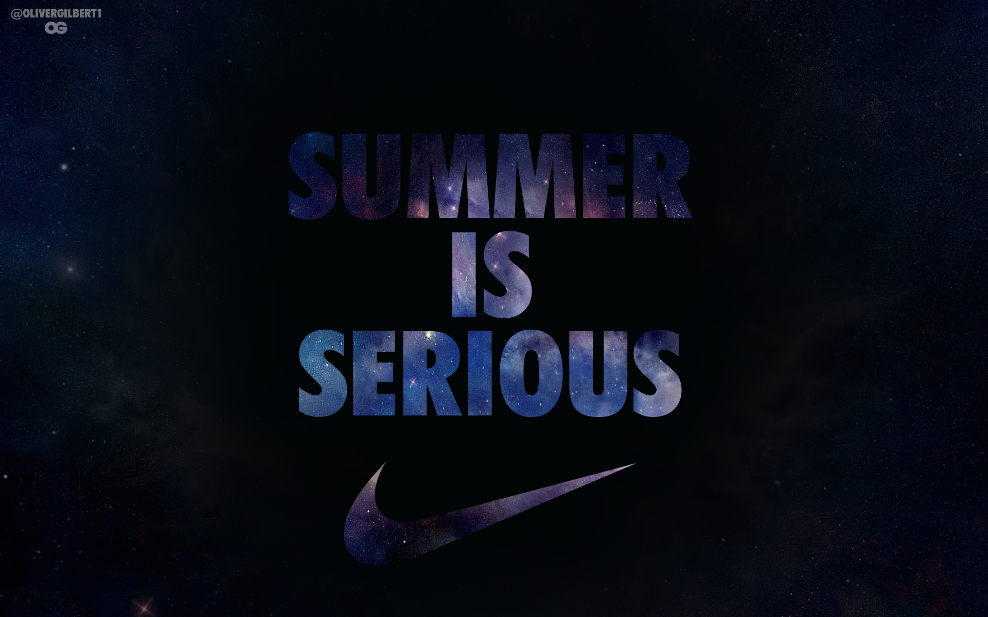 SummerIsSerious Nike Basketball by Hecziaa 1920x1200