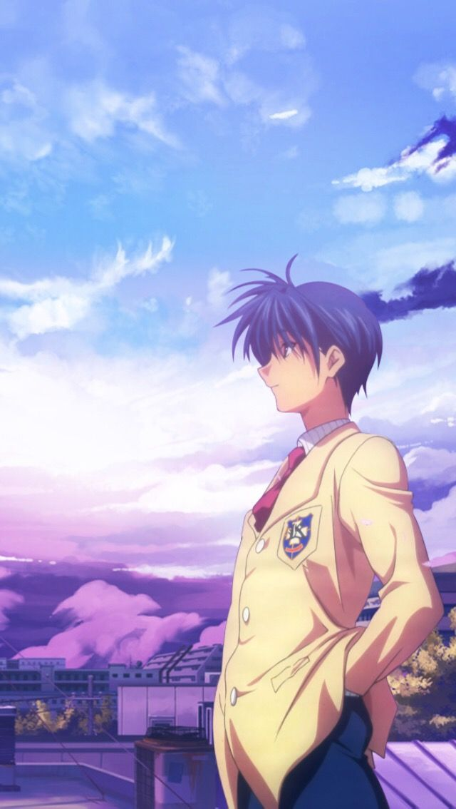 Free Download Clannad Clannadanime Tomoyaokazaki Tomoya Okazaki